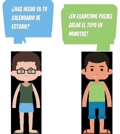 Horario de Estudio de Selectividad con ExamTime